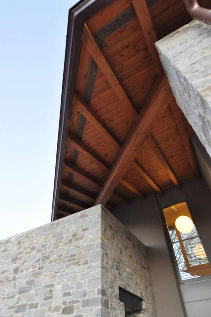 villa ee dettaglio esterno e copertura