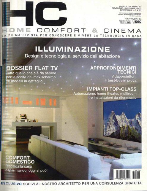 Home Comfort & Cinema - anno III 12 copertina