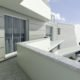 residenza leo render dettaglio balcone