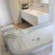 villa holly bagno vasca