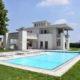 villa holly piscina