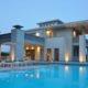 villa holly prospetto sud ovest luci