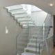 villa holly scala vetro dettaglio