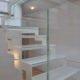 villa holly scala vetro struttura